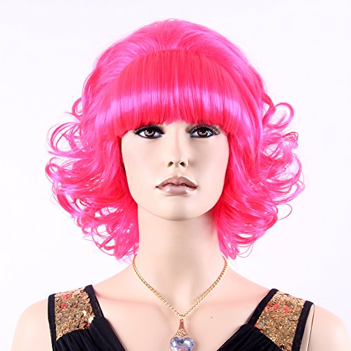 Stfantasy Wigs for Women Short Wavy Heat Friendly Synthetic Hair 13