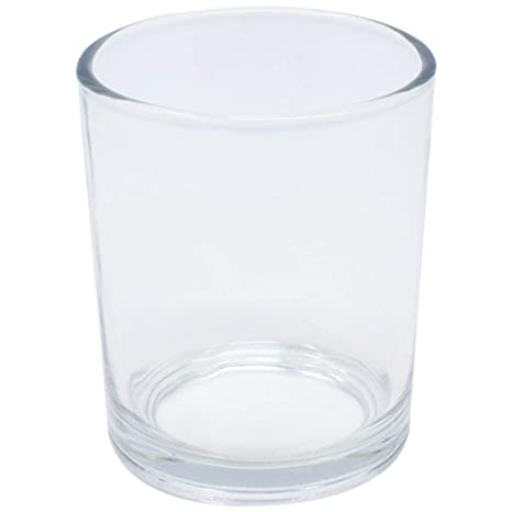 Just Artifacts Clear Glass Votive Candle Holders 2 88 H Set Of 12 Glass Votive Candle Holders For Weddings And Home Dacor