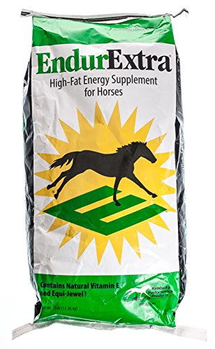 Kentucky Performance Prod 044095 Endurextra High Fat Energy Supplement for Horses, 25 lb