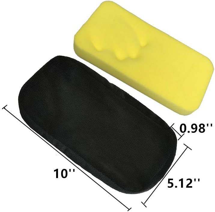 Set of 2 Ergonomic Memory Foam Office Chair Armrest Pads,Gaming Chairs Armrest Covers Relieve Forearm /& Elbow Pain Computer Desk Chair Arm Pad /& Comfy Elbow Cushion