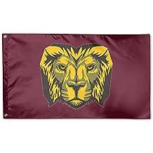Online Lion Animal Season Home Yard Garden Flags 3x5 Polyester Fiber Emblemize