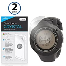 Suunto Ambit2 R Screen Protector, BoxWave® [ClearTouch Crystal (2-Pack)] HD Film Skin - Shields From Scratches for Suunto Traverse Alpha   Ambit2 R
