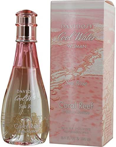 Brand new Davidoff Cool Water Sea Rose Carol Reef Eau de toilette Spray 3.4 oz.