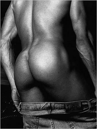 männer body sixpack schwarz weiß