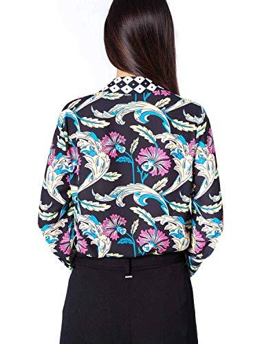 Camicia Unica Zelaguen Camicia Fantasia Fantasia Giardino cHfcrSB