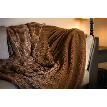Very Amazon.com: DaDa Bedding Luxury Solid Chocolate Ice Cream Brown  ME85