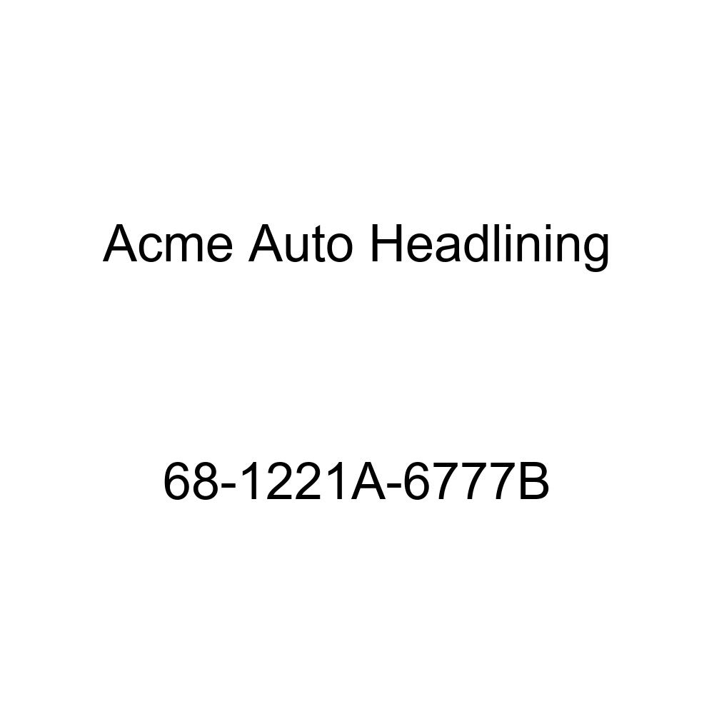 Oldsmobile 442 Cutlass /& F85 2 Dr Coupe /& Hardtop 6 Bow Acme Auto Headlining 68-1221A-6777B Red Replacement Headliner