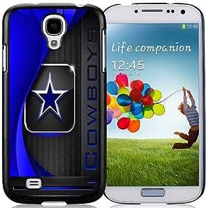 Easy Use,Unique Galaxy S4 Case Design with Dallas Cowboys 2 Black Case for Samsung Galaxy S4 SIV S IV I9500 I9505