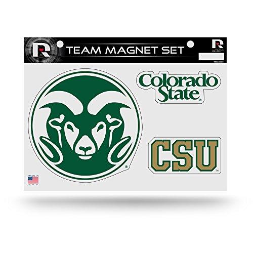 Rico Industries NCAA Colorado State Rams Die Cut Team Magnet Set Sheet