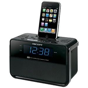 Scott i CSX 15 Radiowecker für iPod und iPhone für 24,99€