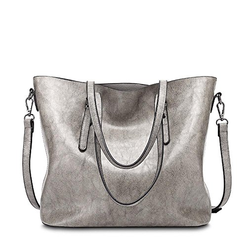 Aoligei PU cuir unique sac à bandoulière simple centaines grande capacité paquet rétro singles épaule Messenger sac à main D