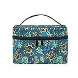 Toiletry Bag Multifunction Cosmetic Bag Portable Toiletry Case Waterproof Travel Organizer Bag for Women Girls Hip Hop Skull Pattern