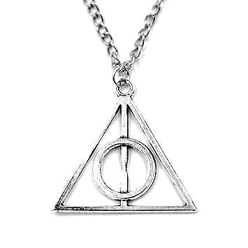 Silvber Film Harry Heiligtümer des Todes Alloy Potter Halskette Kette Anhänger