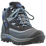 Khombu Men's Fleet Hiker Terrain Weather Rated Boots Grey/Blue