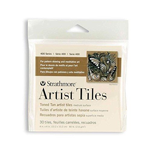 Strathmore Artist Tile Pack, Toned Tan
