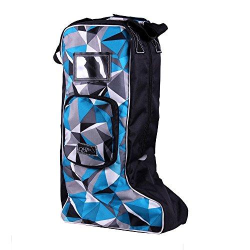 netproshop Stiefeltasche, Tasche für Reitstiefel Lederstiefel in modernen Designs Ice blue