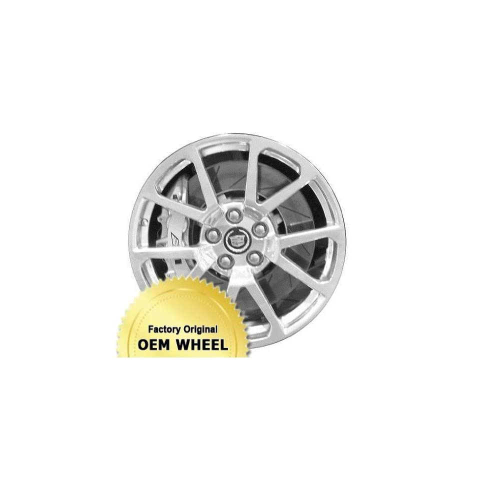 2010 2014   CADILLAC   CTS   19x9   5 120   5 DOUBLE SPOKE   FACTORY OEM WHEEL RIM REMANUFACTURED