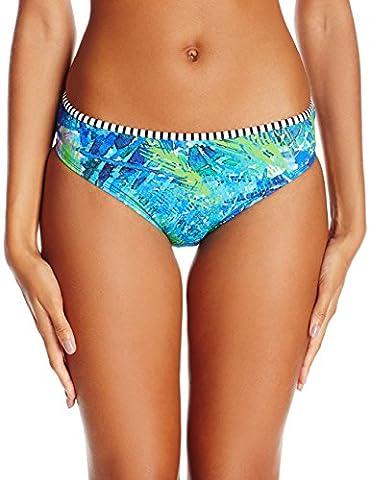 Panache Women's Elle Classic Bikini Bottom, Palm Print, (Foderato Bikini Swimsuit)
