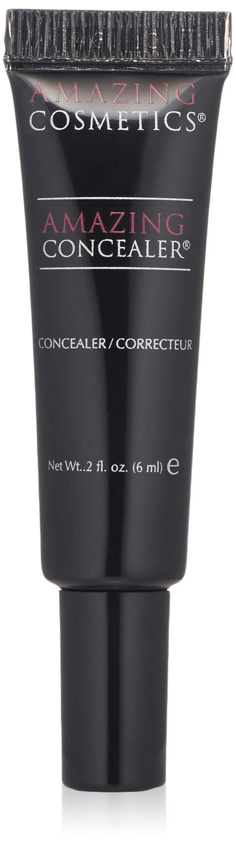 AmazingCosmetics Amazing Concealer, multipurpose full coverage concealer, Medium Beige by AmazingCosmetics
