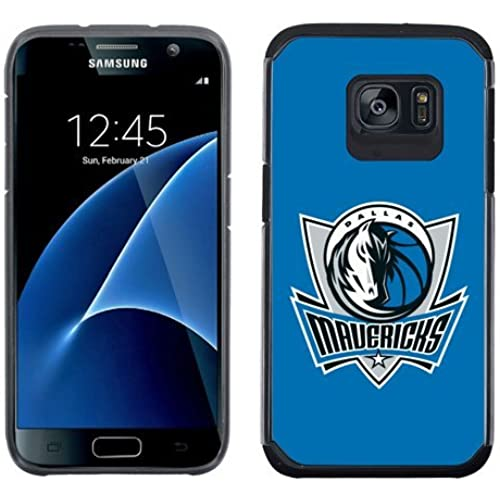 SAMSUNG GALAXY S7 CASE - Official NBA Licensed NetGen Team Logo Dual Layer Hybrid Cellphone Case (Dallas Mavericks) Sales
