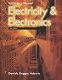 Electricity and Electronics Instructor's Manual, Howard H. Gerrish and William E. Dugger, 1590708865