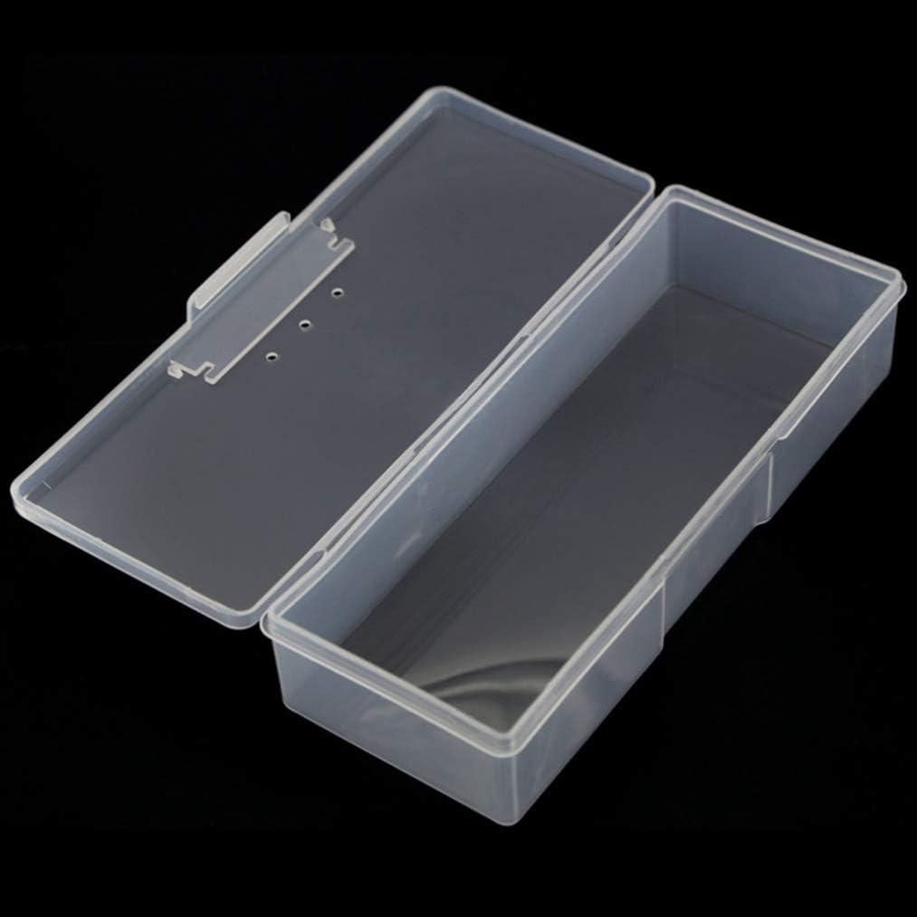 Wadachikis スタイリッシュボックスボックスプラスチック箱箱プラスチック箱(None white)