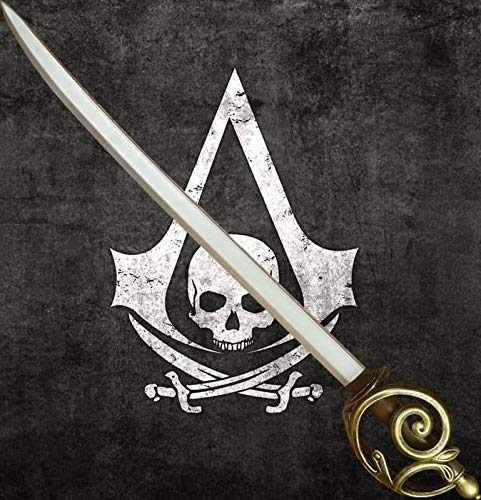ThinkGeek Assassin's Creed Edward's Cutlass Latex Replica