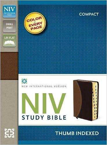 Niv bible version thumb tab