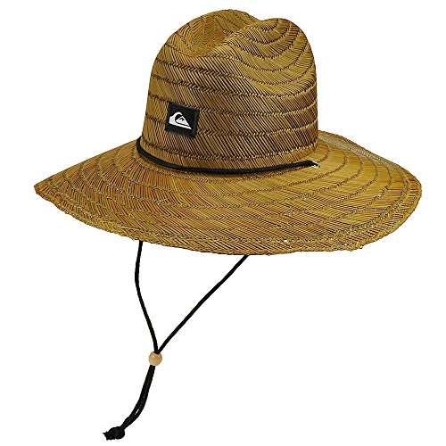 Quiksilver Men's Pierside Straw Hat, dark brown Large/X-Large