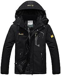 MAGCOMSEN Men's Winter Coats Warm Fleece...