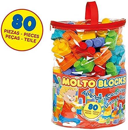 M MOLTO Bolsa Blocks 80 pcs.