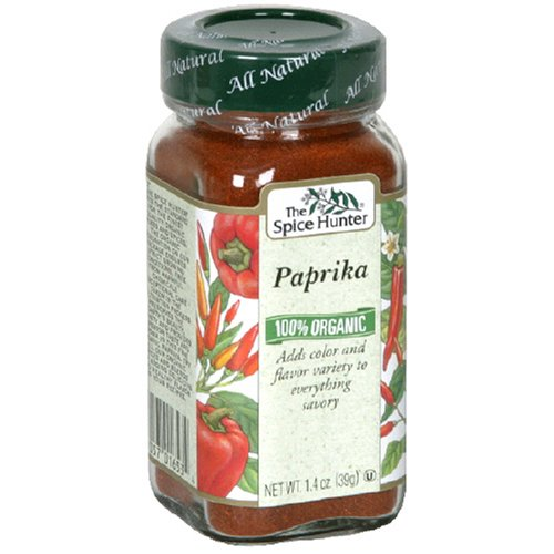 Spice Hunter Organic Ground Paprika, 1.4-Ounce Units (Pack of 6)