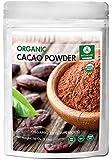 Organic Cacao Powder (1lbs) by Naturevibe Botanicals, Gluten-Free & Non-GMO (16 ounces)