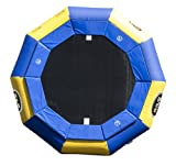 RAVE Eclipse AJ-120 Trampoline (Blue/Yellow)