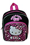 Hello Kitty Lovely Bow 10″ Mini Black and Pink Backpack, Bags Central