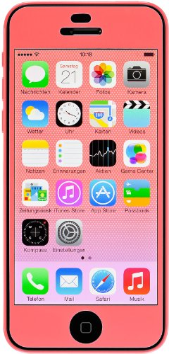 Artwizz ScratchStopper Color - screen protectors (iPhone 5c, Mobile phone/smartphone, Apple, Pink)