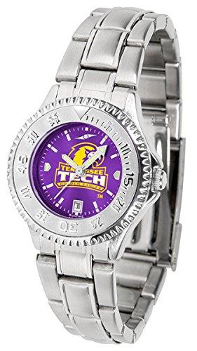 Golden Eagles Sport Steel Watch - Tennessee Tech Golden Eagles Competitor Steel AnoChrome Women's Watch
