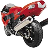 Hotbodies Racing 60802-1108 Candy Sonoma Red ABS Undertail with License Plate Light