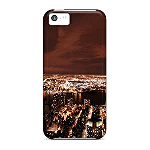 Knd32487HCVX Faddish Midtown Skyline Cases Covers For Iphone 5c