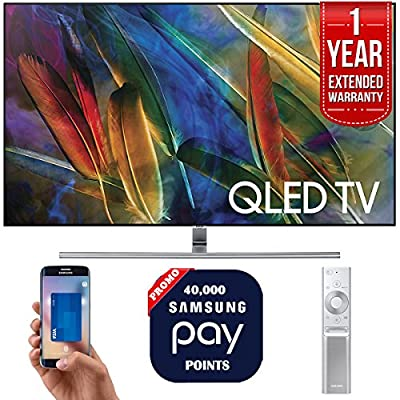 "Samsung QN55Q7F 55"" 4K UHD Smart QLED TV + 1 Year Extended Warranty + 40,000 Pay Points"