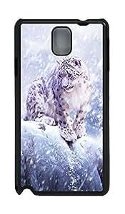 Samsung Note 3 Case Leopard PC Custom Samsung Note 3 Case Cover Black