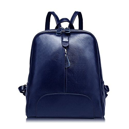 Blue En Convertible Bandoulière école Sacs Sacs à Pour Main à BAILIANG Les Style à Sac Sac Cuir Simple D'école Filles Dos wqRStAB