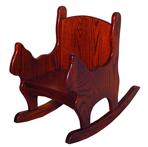 Toddlers Oak Cat Shaped Chair/Rocker by Furniture Barn USA