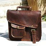 Urban Dezire Men's Genuine Leather Small Briefcase