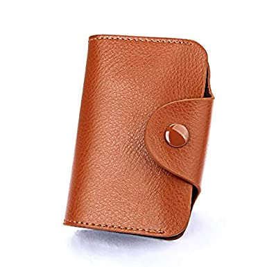 GzxtLTX Wallet Genuine Leather Credit Card Holder Coin Purse Small Accordion