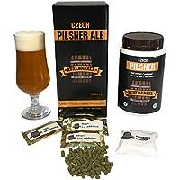 RuneBarrel Homebrew Beer Making Refill kit Premium Czech Pilsner Ale Beer Brewing 2.5 gallons Fresh & Original European Ingredients