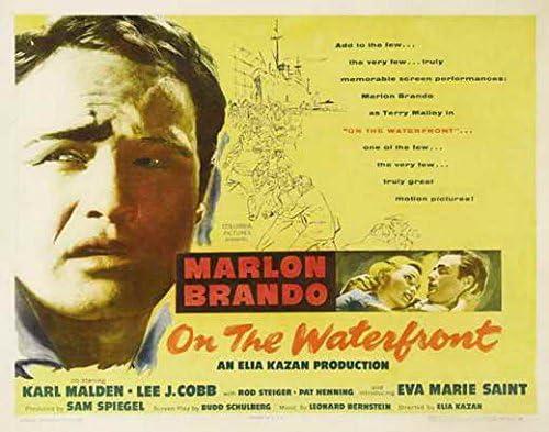 On the Waterfront Marlon Brando movie poster print 11
