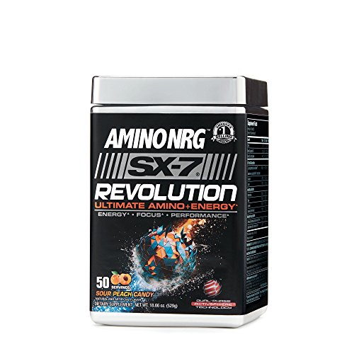 Volumizer Muscle Cell (MuscleTech Amino NRG SX-7 Revolution - Sour Peach Candy)