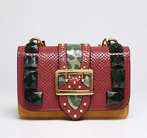 Jxth Vintage Main Rouge Sac Sac Handle Sac Bleu à Main à S Taille Main Tout fourre à Main Top à Vintage Sac Cadeaux Rouge Couleur Satchel rIvOqrtx
