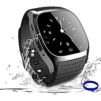 Smart Watch Bluetooth Smartwatch Phone Touch Screen Smart Wrist Watch Sport Fitness Tracker Pedometer Sleep Monitor All Functions Match for IOS iPhone 6S ...